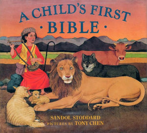 Childrens First Bible Book By Sandol Stoddard